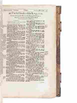 [BIBLE, in English]. The Holy Bible. London: Deputies