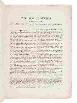 [BIBLE, OLD TESTAMENT, in English]. The Twenty-Four