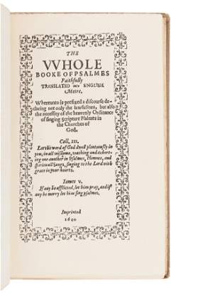 [BIBLES - FACSIMILES] A group of 5 Bibles in facsimile,
