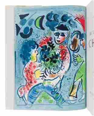 CHAGALL, Marc (1887-1985). The Lithographs of Chagall.