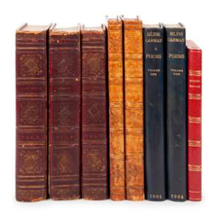 [BINDINGS]. A group of 4 works, comprising: