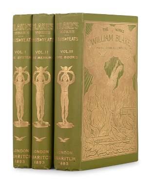 BLAKE, William (1757-1827). The Works of William Blake