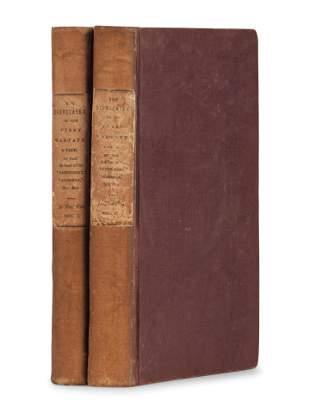 COOPER, James Fenimore (1789-1851). The Deerslayer; or,