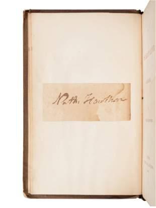HAWTHORNE, Nathaniel (1804-1864). The Scarlet Letter, A