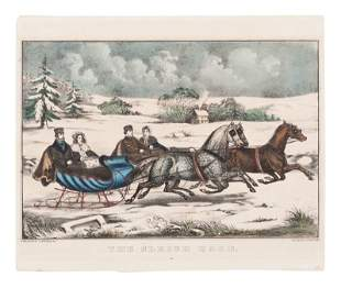 [WINTER SCENES] -- Currier & Ives, publishers