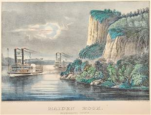 [MISSISSIPPI RIVER] -- CURRIER and IVES, publishers
