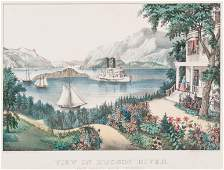 [NEW YORK SCENES] -- CURRIER and IVES, publishers