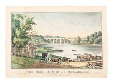 [NEW YORK SCENES] -- Currier & Ives, publishers