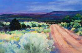 Jan Myers (American, 20th century) Road to the Valley,