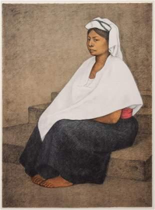 Francisco Zuniga (Mexican, 1912-1998) Woman in White