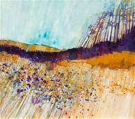 Buffalo Kapinsky (American, b. 1943), Landscape
