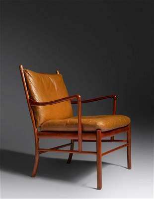 Ole Wanscher (Danish, 1903-1985) Colonial Lounge Chair