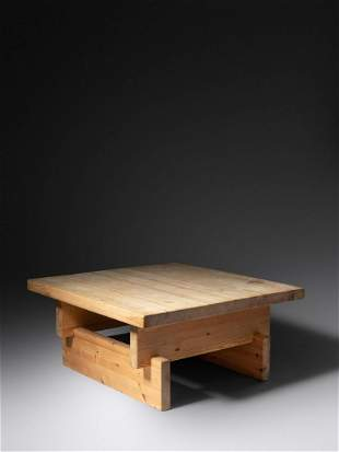 Roland Wilhelmsson (Swedish, 20th Century) Coffee Table