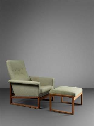 Borge Mogensen (Danish, 1914-1972) Lounge Chair and