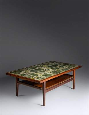 Norwegian Mid 20th Century Two-Tiered Coffee Table