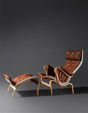 Bruno Mathsson (Swedish, 1907-1988) Pernilla Lounge