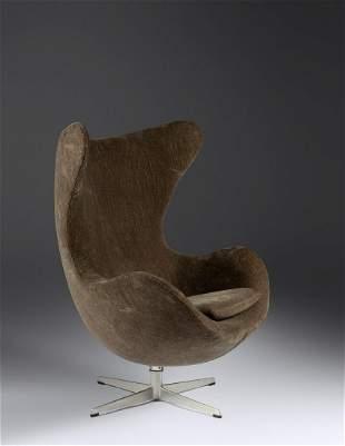 Arne Jacobsen (Danish, 1902-1971) Egg Chair, 1965