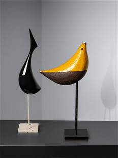 Aldo Londi (Italian, 1911-2003) Two Birds