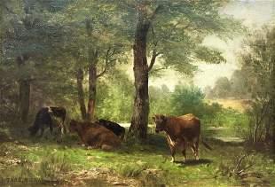 Thomas Bigelow Craig (American, 1849-1924) In the Dog