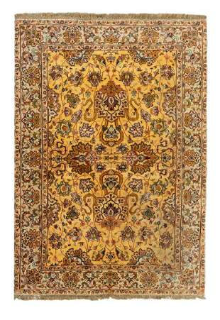 A Persian Design Wool Rug 7 feet 3 inches x 5 feet.