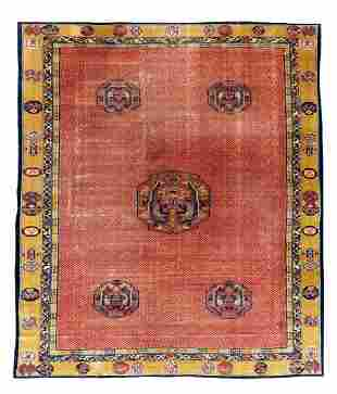 A Chinese Art Deco Rug 15 feet 5 inches x 11 feet 7
