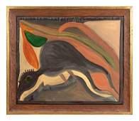 Mose Tolliver (American, 1925-2006) Quail Bird