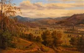 Claude Nozerine (French, 1804-1878) Landscape, 1850