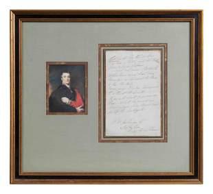 WELLINGTON, Arthur Wellesley, 1st Duke (1769-1852).