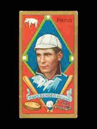 A 1911 T205 Gold Border Piedmont Chief Bender