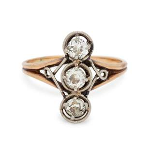 ANTIQUE, DIAMOND RING