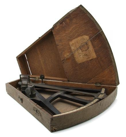 5: An English Cased Sextant, John Jones, Liverpool, Hei