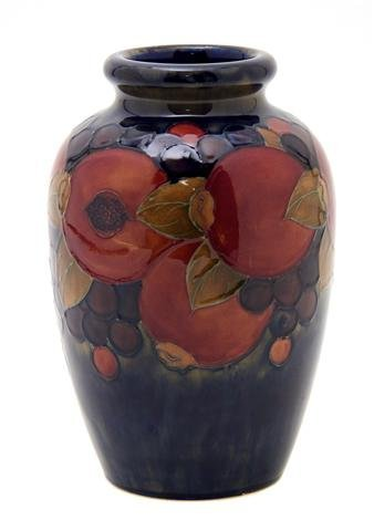 74: An English Pottery Vase, Moorcroft, Height 8 1/4 in