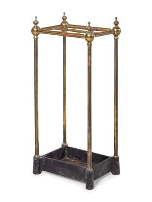 An English Brass Umbrella Stand