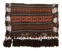 A Caucasian or Northwest Persian Wool Saddle Bag in an
