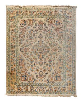 A Persian Style Wool Rug