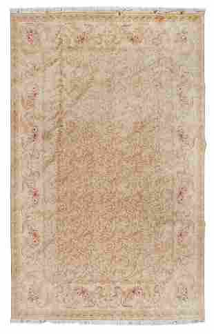 An Aubusson Style Wool Rug