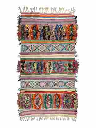 A Moroccan Wool Rug