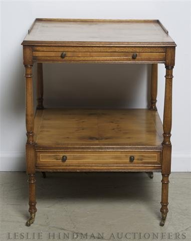 3: A Two Tiered Side Table,