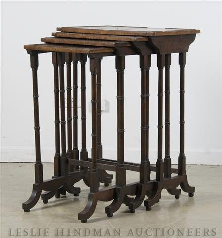 9: A Set of English Nesting Tables, Height of tallest 2