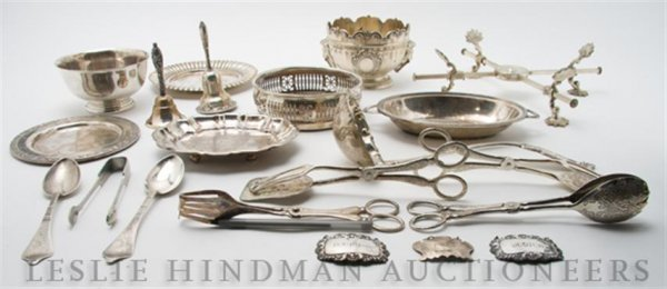 630: A Collection of Silverplate Serving Articles, Leng