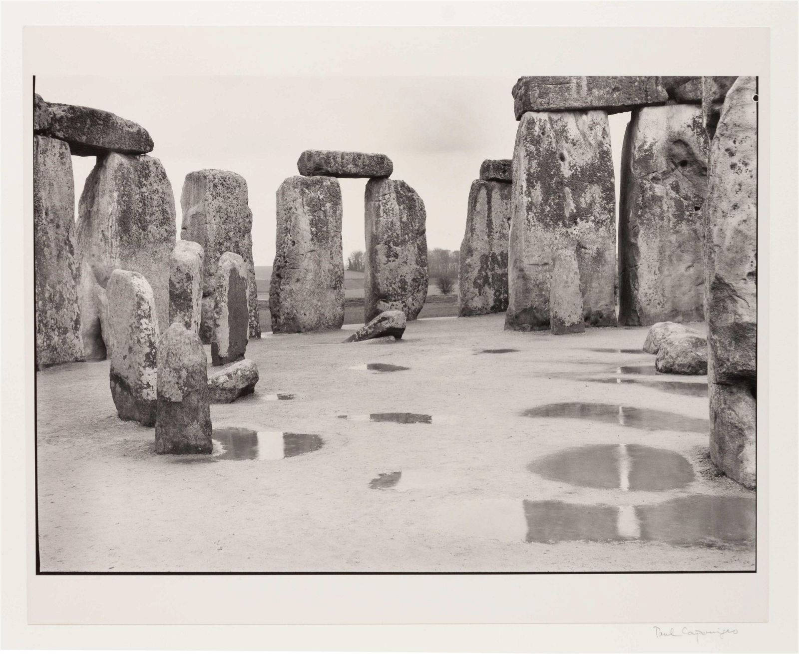 Paul Caponigro (American, b. 1932) Untitled