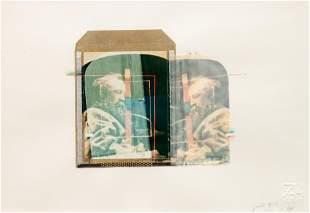 Paolo Gioli (Italian, b. 1942) A pair of polaroids