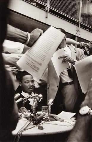 Ernst Haas (American/Austrian, 1921-1986) Martin Luther