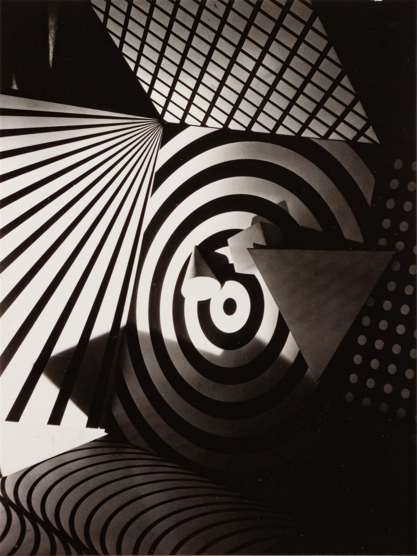 Gyorgy Kepes (American/Hungarian, 1906-2001) A pair of