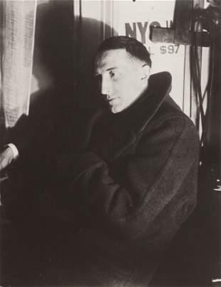 Man Ray (American, 1890-1976) Portrait of Marcel