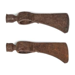 Eastern Plains Pipe Tomahawk Heads overall length 7.5