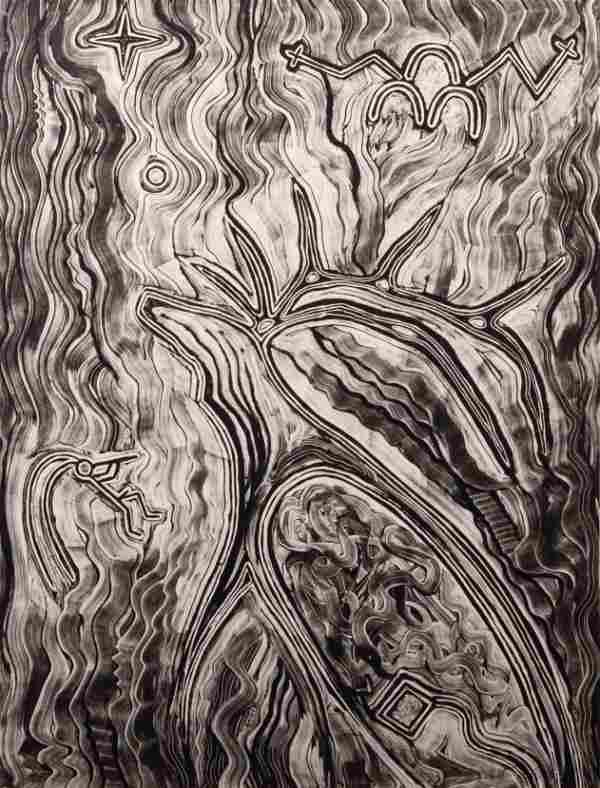 Dan Lomahaftewa (Hopi-Choctaw, 1951-2005) Song of