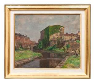 Sarah Speight Blakeslee (American, 1912-2005) Old Mill