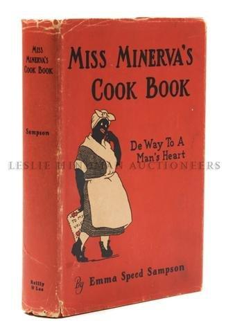 12A: (FOOD AND DRINK) SAMPSON, EMMA SPEED. Miss Minerva