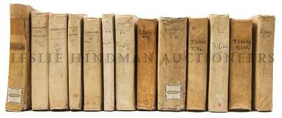 63 CLASSICS LIVY A group of 13 volumes by the Roman